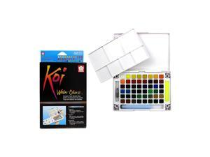 Sakura Pocket Set Koi Watercolor Kit, 48 Color Count
