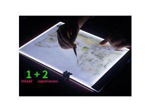 A4 LED Light Box Tracer Ultra-Thin USB Powered Portable Dimmable Brightness LED Artcraft Tracing Light Pad Light Box for Artists Drawing Sketching Animation Designing Stencilling X-ray