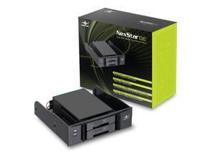 Vantec NexStar SE Dual 2.5-Inch SATA Hard Drive Rack MRK-525ST (Black)