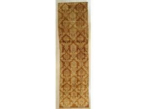 EORC Handmade Afghan Wool Brown Trasitional All Over Turkish Knot Rug, 211 x 11 4