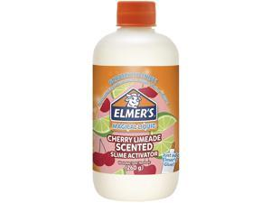 Elmers Slime Activator | Magical Liquid for Scented Slime, Cherry Limeade, 8.75 oz. Bottle