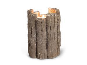 Abbott Collection 27-DRIFTER/729 LG Wood Look Maxilite Holder