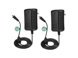 SingPad 12V 3A Power Supply Adapter, 2Pack AC 100-240V to DC 12V Transformers, Switching Power Supply for Home Security Camera Surveillance DVR NVR Led Light Strip