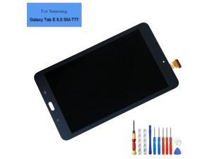 Melphyreal for Galaxy Tab E 8.0 SM-T377T T377W T3777 T377R4 T377P LCD Touch Screen Assembly Digitizer Black + Tools
