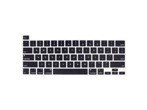 Release in November 2019 Black YYubao Ultra Thin Keyboard Cover Protector Soft Silicone Skin Compatible with MacBook Pro 16 inch with Touch Bar and Touch ID A2141