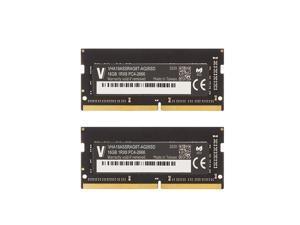 v-Color 32GB (2 x16GB) Upgrade for Apple 2019 iMac 27-inch w/Retina 5K Display DDR4 Non ECC 2666MHz (PC4-21300) CL19 1.2V SO-DIMM (TN416G26D819K-VC)