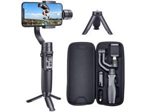 Hohem Smartphone Gimbal 3-Axis Handheld Stabilizer for iPhone 11 pro max, for Android Smartphones, Samsung Galaxy S10/S10 Plus, for Youtuber/Vlogger (iSteady Mobile Plus)