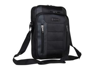 """Kenneth Cole Reaction Keystone 1680d Polyester Single Compartment 12"""" Laptop/Tablet Case, Black"""