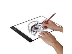 A4 LED Tracing Light Pad,Portable LED Artcraft Tracing Light Board Light Box Brightness Control with USB Power for Kids Artists Animation Sketching Drawing