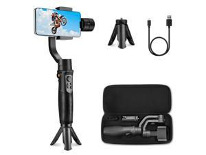 Hohem iSteady Mobile Plus Smartphone Gimbal,Smartphone Stabilizer for iPhone 11/11 Pro/XS/XS MAX/XR/8,Smartphone Gimble for Galaxy S10/Plus/S9,Designed for Vlog, Youtuber(2019 New Model)