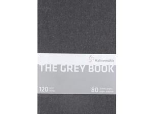 Hahnemuhle Grey Book Sketch Book A5 (8.3x5.8 inches) 120gsm 40 sheets/80 Pages