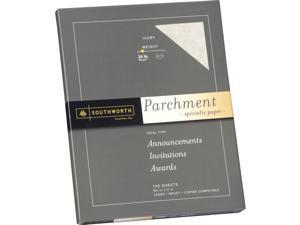"""Southworth Parchment Paper - Letter - 8.50"""" X 11"""" - 24 Lb - Parchment - 100 /"""