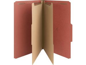 "Nature Saver Classification Folder - Legal - 8.50"" X 14"" - 6 Fastener - 2"""