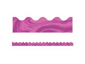 Pink Marble Scalloped Border, 39