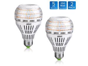 [UPGRADED] SANSI 27W 250 Watt Equivalent A21 Omni-directional Ceramic LED Light