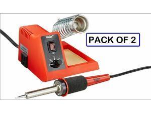 (PACK OF 2) WELLER WLC100 40-Watt Soldering Station - WE EXPORT