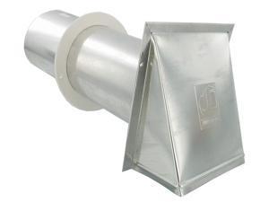 "Dundas Jafine Pvb4eal 4"" Vent Hoods Aluminum"