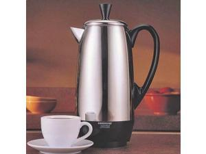 NEW FARBERWARE FCP412 STAINLESS STEEL 4 TO 12 CUP ELECTRIC PERCULATOR 6207625
