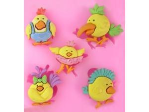 Angry Birds 5 cav Silicone Mold for Fondant Gum Paste Chocolate Crafts