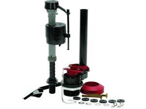 Fluidmaster Universal Toilet Tank Repair Kit, All in one, 2 Inches Flush Valve