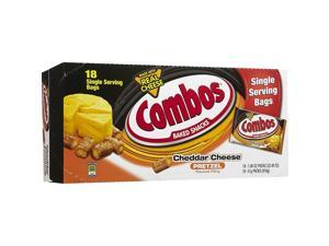 Combos Cheddar Cheese Filled Pretzel Combos - Cheddar Cheese, Crunch - 1.80 Oz -