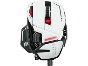 Mad Catz The R.A.T. 8+ Optical Gaming Mouse White MR05DCAMWH00