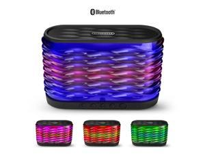 HyperGear LYTE XL Wireless LED Speaker - Black