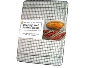 Ultra Cuisine Heavy Duty Stainless Steel Cooling and Baking Rack fits Jelly...