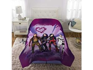 Disney Descendant 3 Girls Bedding Soft Blanket Reversible Comforter Twin Full