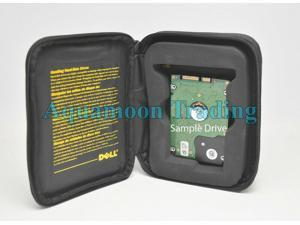 """Dell Laptop 2.5"""" HDD Hard Drive Foam Protector Shockproof Zippered Bag Sleeve"""
