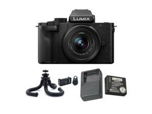 Panasonic LUMIX DC-G100KK 4K Mirrorless Vlogging Camera Bundle with Accessory