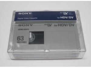1 Sony HD mini DV tape HDM63VG for Panasonic AG-DVX100B camcorder