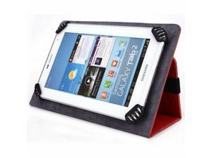 KOCASO M756 7 Inch Tablet Case, UniGrip Edition - RED - By Cush Cases