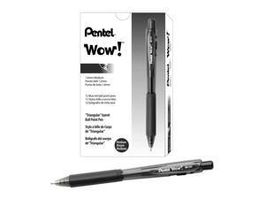 S.T Dupont Saint Michel Ballpoint Pen Black Lacquer /& Chrome Medium 440140