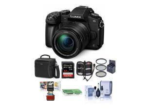 Panasonic Lumix DMC-G85 Mirrorless with 12-60mm OIS Lens and Free Accessories