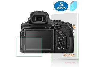 5X NX For Nikon COOLPIX P1000 Digital Camera Tempered Glass Screen Protector