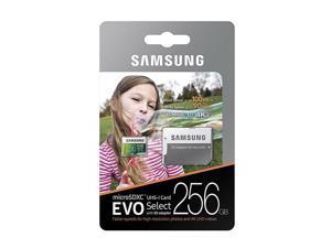 Samsung 256GB Micro EVO select U3 SD card for LG V50 V40 V35 V30 V20 V10 ThinQ