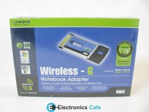 Linksys WPC54G Wireless G Notebook Adapter
