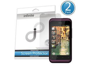 Infinite Products HRHY-SP-2C VectorGuard Screen Protector Film for HTC Rhyme - 2 Pack - Packaging - Clear