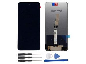Assembly Replacement for Xiaomi Redmi Note 9 Pro/Note 9S 6.67 inch LCD Display Touch Screen Digitizer Black