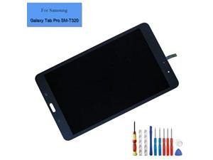for Galaxy Tab Pro T320 SM-T320 LCD Touch Screen Display Assembly Black Replacement Parts + Tools