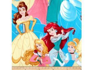Disney Princesses Packed Fleece, Yard, Multi