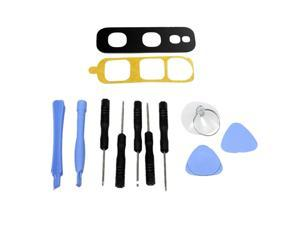 GinTai Rear Back Camera Glass Lens Cover Replacement for Samsung Galaxy S10e Phone Parts + Tools Kit