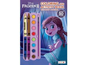 Disney Frozen 2 Color and Paint Activity Book with Paints and Stickers 45818