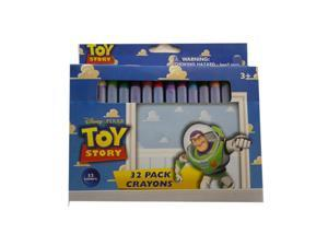 Disneys Toy Story Crayons - 1 Pack of 32 Crayons