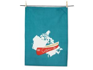 Abbott Collection 56-KT-WT-04 Tea Towel, 1 EA, Multicolor
