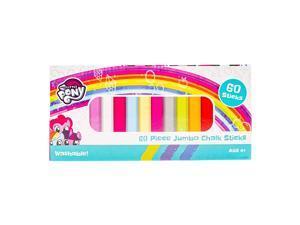 My Little Pony Jumbo Box of Sidewalk Chalk 60 Pc