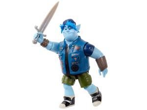 Disney Pixar Onward: Core Figure Barley Character Action Figure Realistic Movie Toy Brother Doll for Storytelling, Display and Collecting for Ages 3 and Up