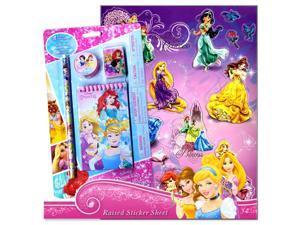 Disney Princess School Supplies for Girls (Stationary Set with Disney Princess Stickers)