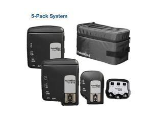 PocketWizard TTL Wireless Radio Super 5-Pack All-In-One System for Canon